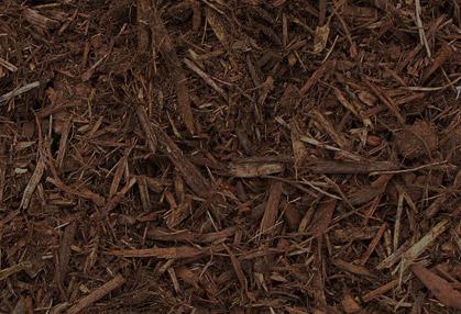 Triple Shredded Brown Dyed Mulch Phelps Lawn